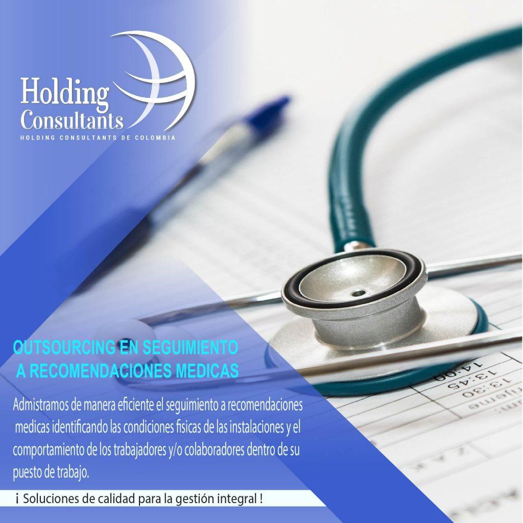 Seguimiento a recomendaciones medicas